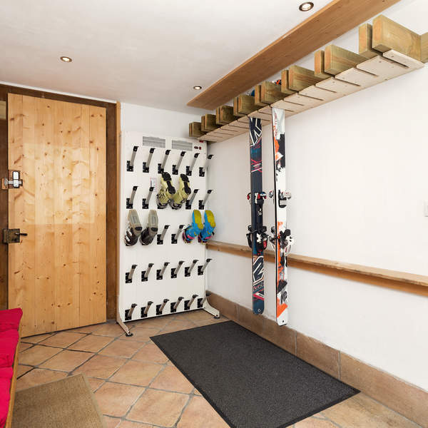 Situated below our 11th bedroom the Heated Ski Room with Boot Dryer is a luxury addition to any holiday