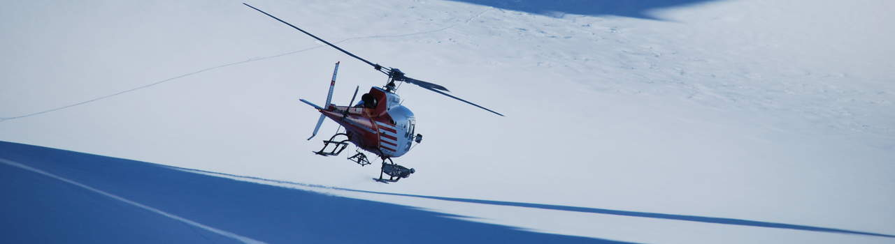 Let Nomadic Ski arrange your heliskiing trip with the best guides in the valley