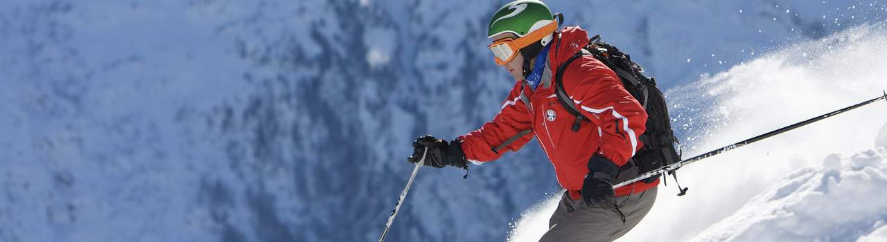 World-class terrain for beginners to expert off-piste powder hounds
