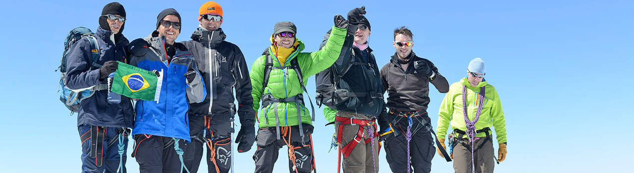 Mont Blanc Guides - no better way to conquer the White Mountain